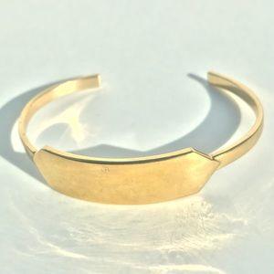 J. Crew ID Gold toned Bracelet
